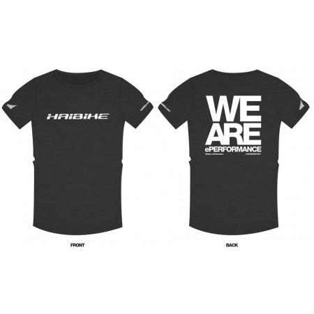 """Haibike tričko """"WeAre_ePerfomance"""" pánské"""